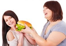 Image result for fat girl say no to food