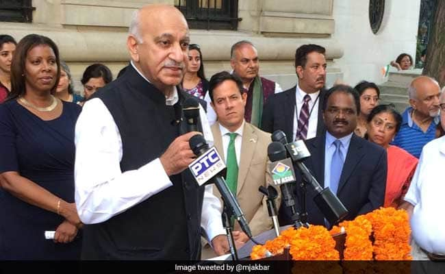 Image result for m j akbar me too
